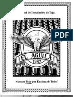 Manual de instalación de Teja
