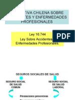Normativa Chilena Sobre Acc.del trabajo y Enf. Profesionales