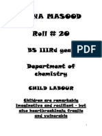 child labour in pakistan ..child labour as a social issue