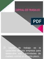 CAPITAL DE TRABAJO, LIQUIDEZ Y APALANCAMIENTO