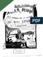 Anatole lefort - Voyage en Algérie