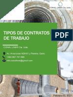 Unidad 3_Tarea 1_Tipos de contratos de trabajo_Grupo#5