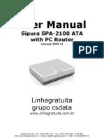 Manual SPA2100