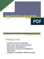 Lecture 2 Quantitative & Qualitative[1]