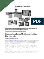 Modicon Programming Handbook