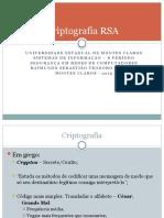 Criptografia RSA