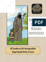 El Cuaderno del Encapuchado- Fabula de un Reino Antiguo
