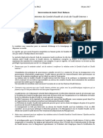 Rôle et Attentes du Comité d'Audit vis-à-vis de l'AI_IFACI 2017 (à lire)