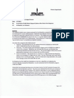 Budget Director's Analysis of Springfield Waste Disposal Options