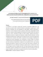 Análise da distribuição Geoespacial da Covid-19