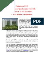 3C sports Village sec 78 -79 Noida 9910008816