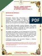 02 Guion - Ordenación Diaconal Fr. Rafael García