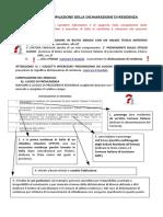 Guida Compilazione Dichiarazione Residenza