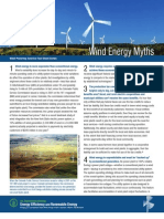 Wind Farms myths
