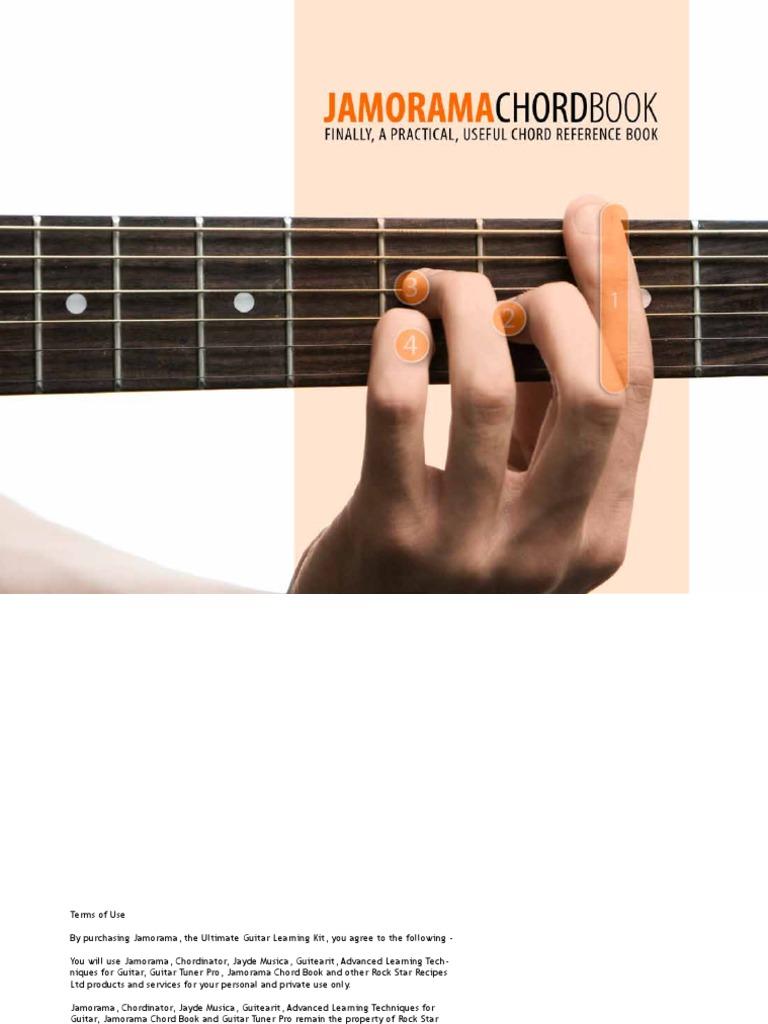 Jamorama Chord Book