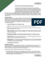 Production Worksheet- pom