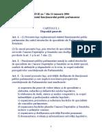 LEGE nr. 7 din 2006 privind Statutul funcţionarului public parlamentar