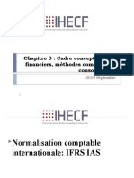 Chapitre 3  cadre conceptuel, états financiers, méthodes comptables et consolidation