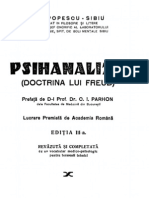 Psihanaliza - Doctrina lui Freud
