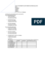 EFFECTS OF ACCOUNTING TRANSACTIONS