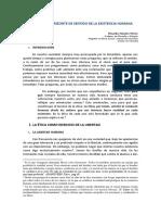 Control de lectura 3 (01). LA ÉTICA COMO HORIZONTE DE SENTIDO DE LA EXISTENCIA HUMANA