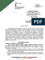 Anunt Incadrari Directe - 2 Post de Agent de Politie, Specialitatea Secretariat - I.P.J.cluj
