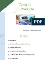 Tema 4-El producto- Cristina Gómez Espejo