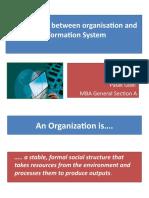 Akshi & Palak - Organization & Information System