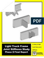 Light Truck Frame Joint Stiffness Study Phase 3 Final Report