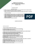 curriculum_adaptat_limba_si_literatura_romana_cls_a_via