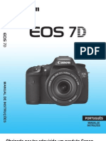 Manual da Canon EOS 7D