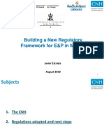 Building a New Regulatory Framework for E&P in Mexico