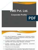 VMS - Corporate Profile