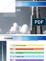 Burj Khalifa Presentation