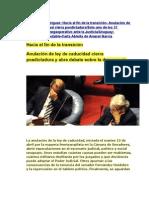 Noticias Uruguayas 16 abril 2011