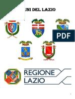 Comuni del Lazio