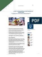 Sistema Delivery e Sua Importância Para Empresas de Alimentação