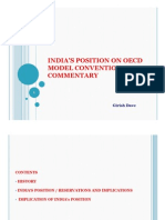 India's take on OECD model commentary