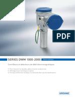 contrôleur-de-débit-électromagnétique-dwm-1000-de-krohne-messtechnik-gmbh