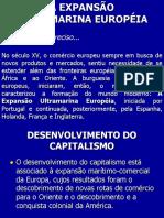 EXPANSÃO ULTRAMARINA