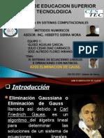 4200 METODO DE ELIMINACION DE GAUSS