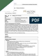 Etude de cas - Hilton rapport