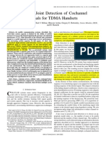 Adaptive joint detection of cochannel signals for TDMA handsets 01350922