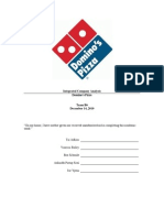 Dominos Report