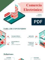 1. Introducción al Comercio Electrónico