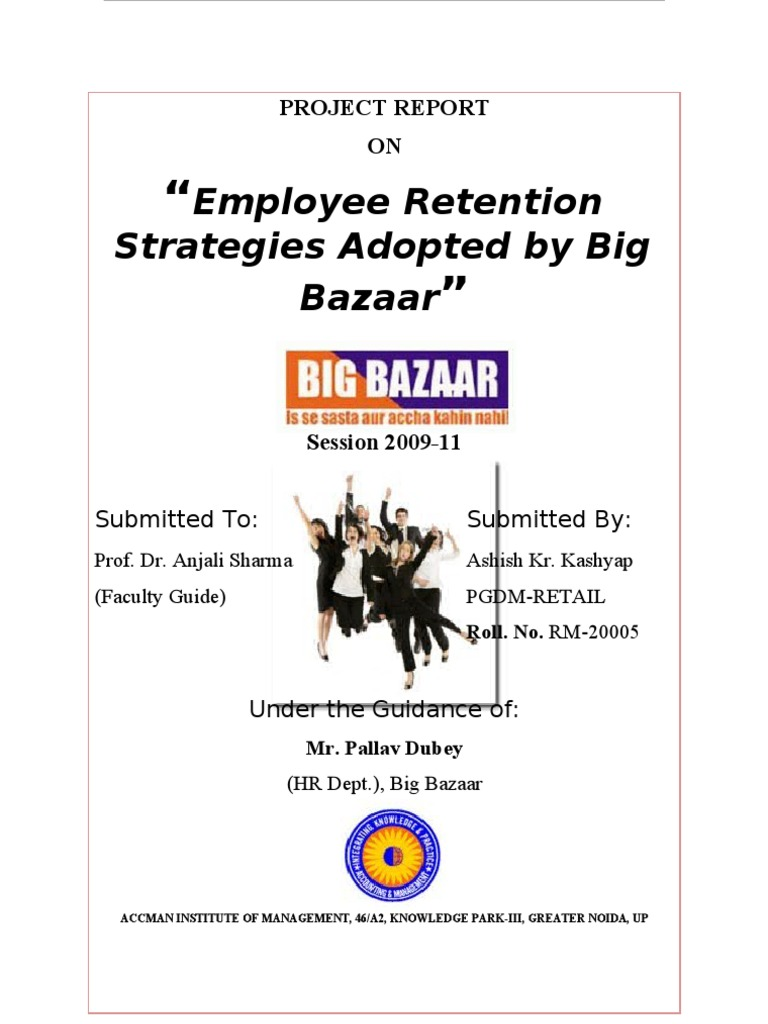 Thesis on employee retention management