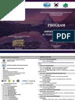 Program SNSG 2021 complet