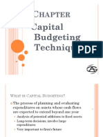 Capital Budgeting- 30 Jan 2011 [Compatibility Mode]