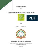 REPORT ON grid computing