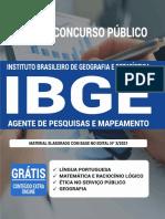 Apostila questões IBGE 2021 (Agente de Pesquisa e Mapeamento)